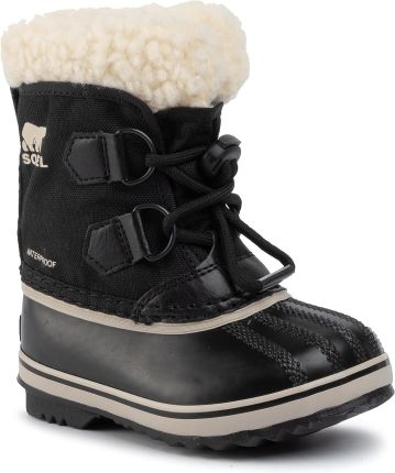 Śniegowce SOREL - Childrens Yoot Pac Nylon NC1962 Black 010