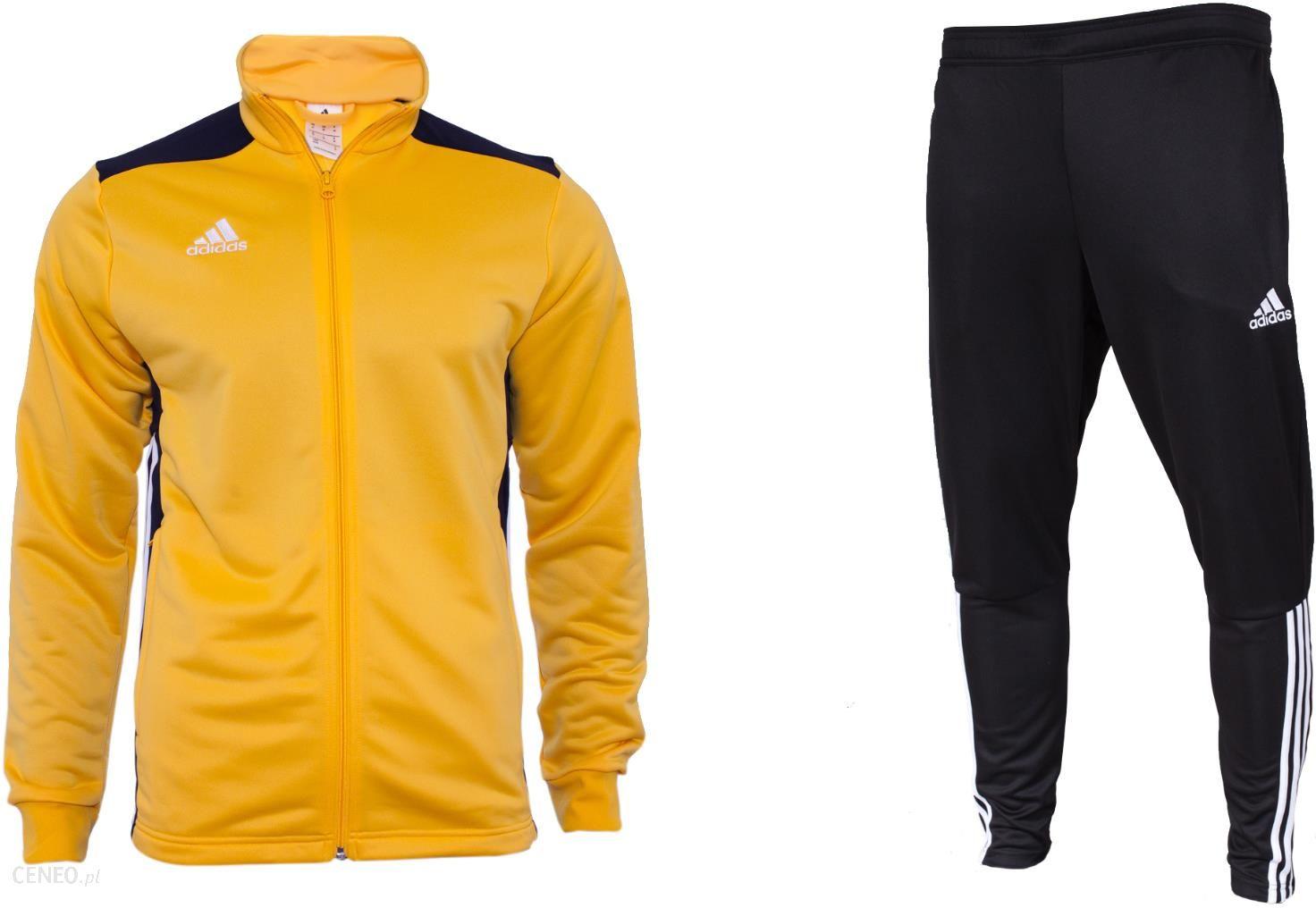 Dres adidas sportowy jak NOWY bluza spodnie trening zamek