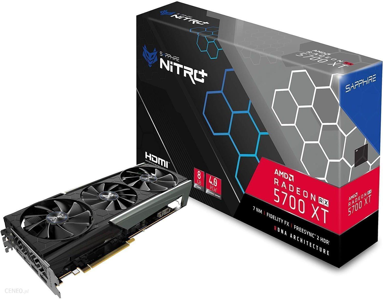 Sapphire Radeon RX 5700 XT NITRO+ 8GB GDDR6 (11293-03-40G)