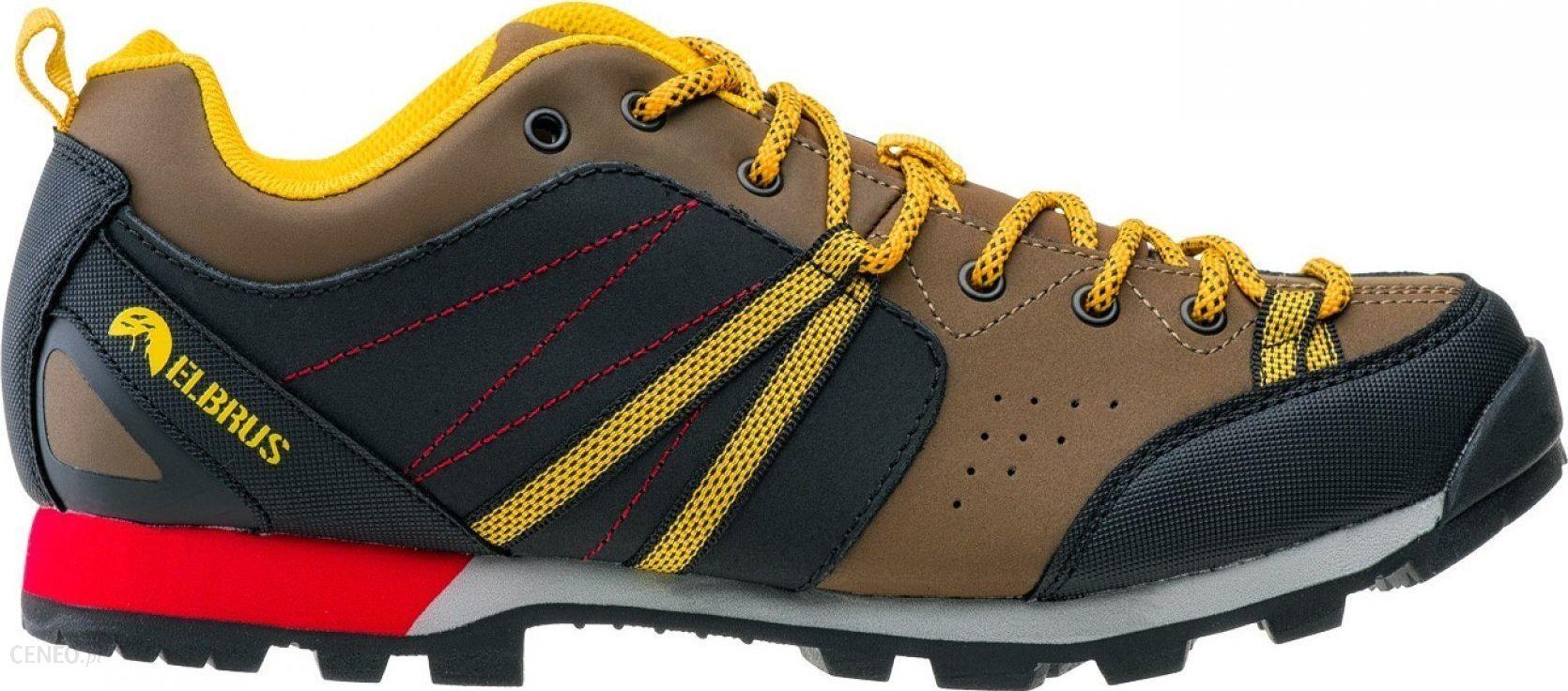 Męskie buty trekkingowe GERDIS 4719 BLKDK GREY ELBRUS