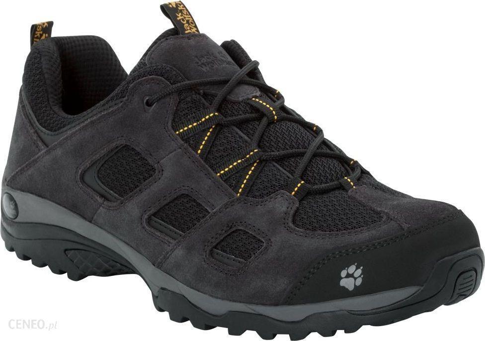 trampki gorące wyprzedaże gorąca wyprzedaż Jack Wolfskin Vojo Hike 2 Low Black Burly Yellow Xt 4036731 6055