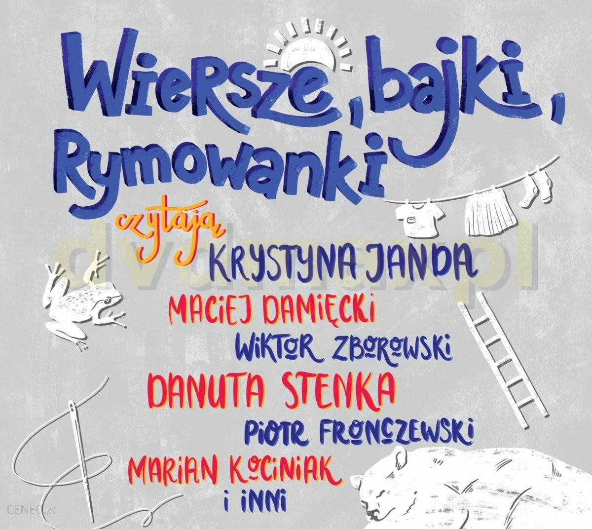 Wiersze I Bajki Rymowanki Krystyna Janda Maciej Damięcki Wiktor Zborowsi Cd