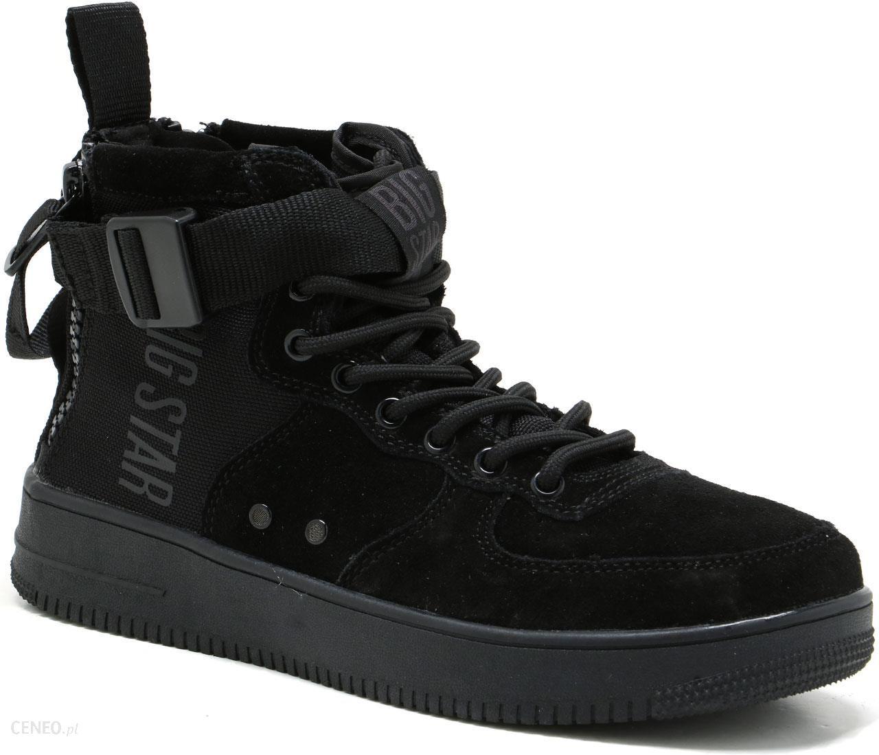 Sneakersy Damskie Trampki Czarne Big Star EE274662   Bugo.pl