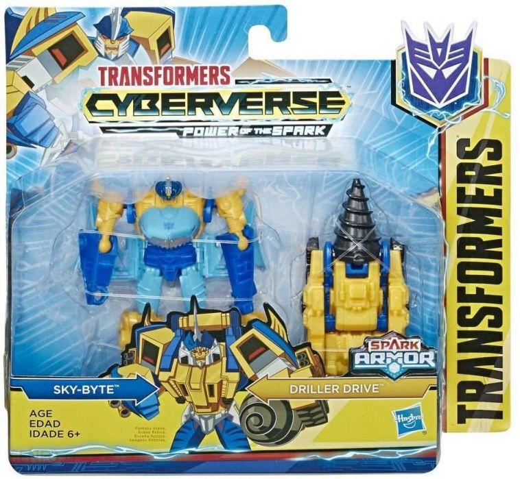 Hasbro Figurka Transformers Cyberverse Spark Armor Skybyte