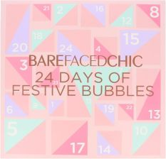Bare Faced Chic Christmas Advent Calendar 24 Days Of Festive Bubbles Kalendarz Adwentowy Do Kąpieli