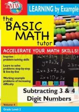 Film DVD Basic Math Tutor Subtracting 3 4 [DVD] - zdjęcie 1