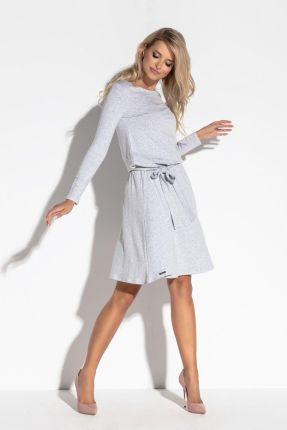 Rawear Sukienka Model E2 Dark GreyLimonka Ceny i opinie