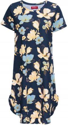 Sukienka shirtowa w kwiaty Ceny i opinie Ceneo.pl
