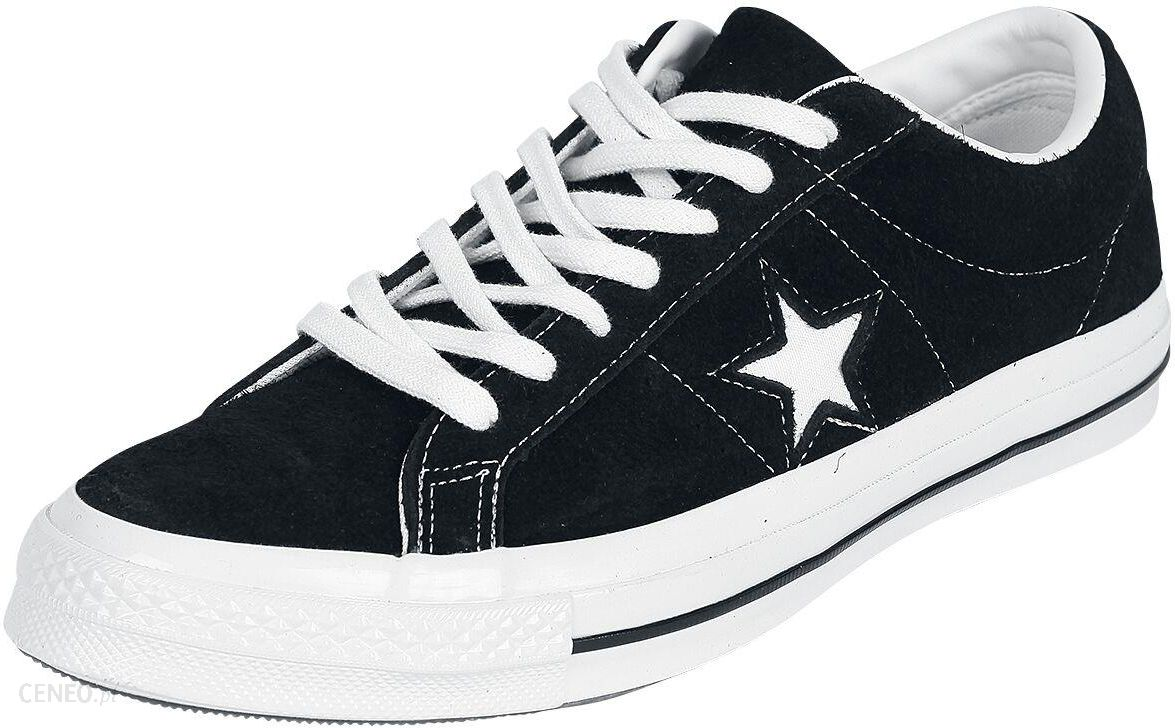 Converse One Star Ox Trainers In Black Black Ceneo.pl