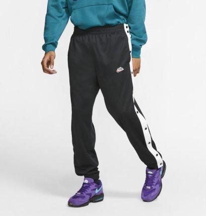 Nike Męskie rozpinane spodnie Nike Sportswear Czerń