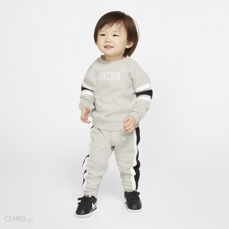 Nike Bluza i joggery dla niemowląt (12 24 m) Jordan Jumpman (dwuczęściowy zestaw) Szary Ceny i opinie Ceneo.pl