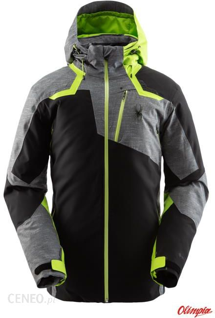 Spyder, Monterosa GTX, kurtka narciarska, mężczyźni, mojito zielony