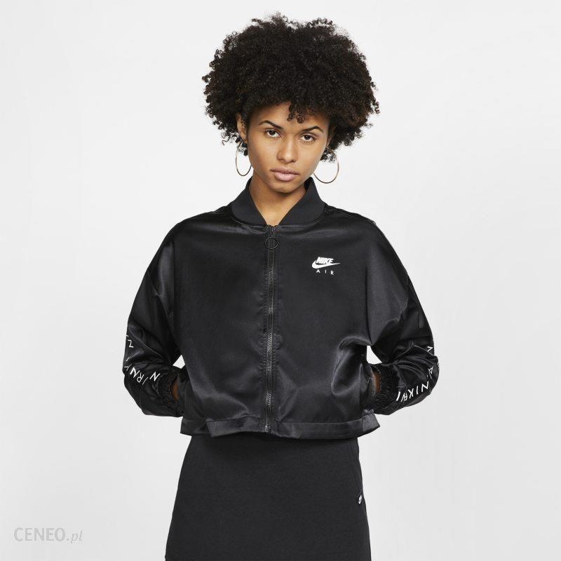 Nike Damska satynowa bluza dresowa Nike Air Czerń
