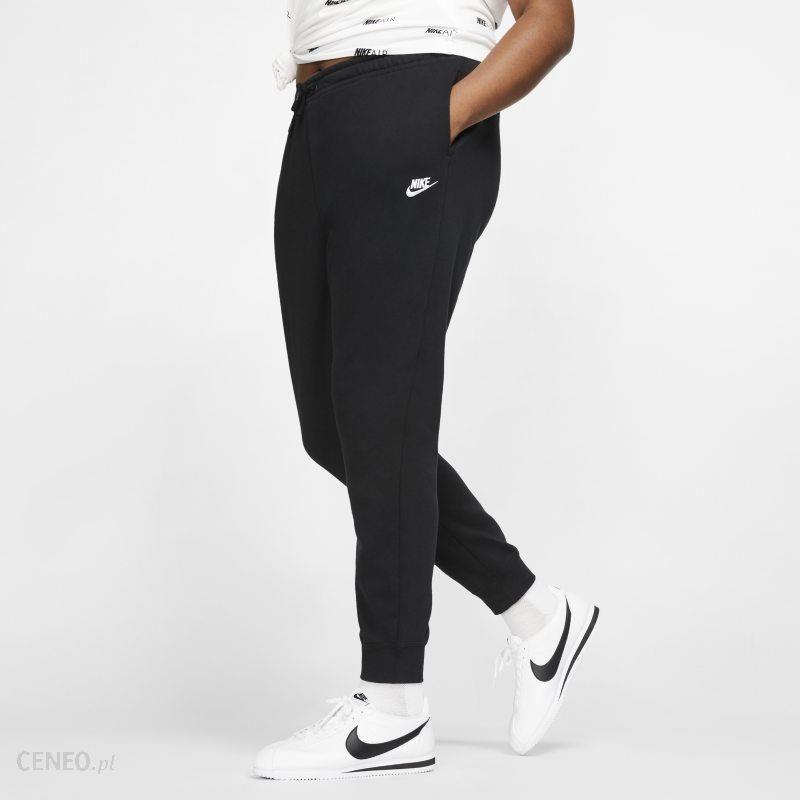 Nike Damskie spodnie z dzianiny Nike Sportswear Essential (duże rozmiary) Czerń