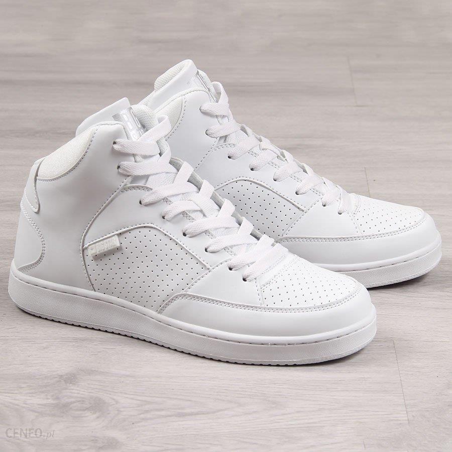 Buty sportowe wysokie białe Big Star EE274210 biały Ceny i opinie Ceneo.pl