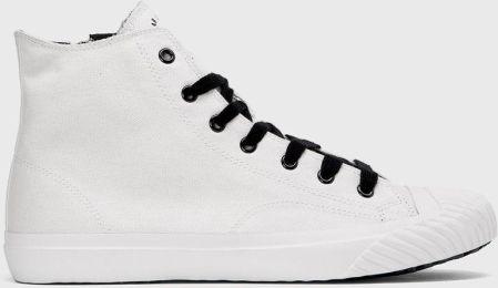 Buty męskie trampki wysokie wiązane T304 białe 42 Ceny i