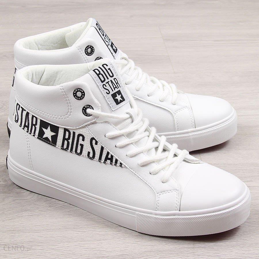 Buty sportowe męskie trampki białe Big Star EE174340 biały Ceny i opinie Ceneo.pl