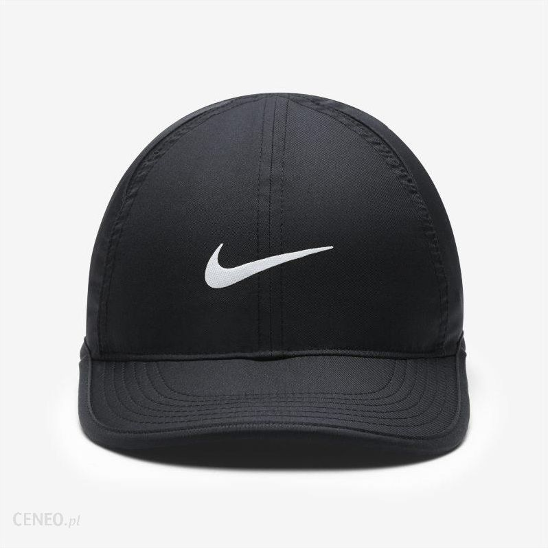 Nike Regulowana czapka dla dużych dzieci Nike Featherlight Czerń Ceny i opinie Ceneo.pl