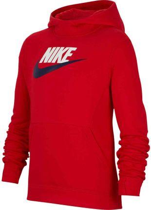 Bluza dla dzieci Nike B NSW PO Hoodie Club FLC HBR czarna BV0783 010 Ceny i opinie Ceneo.pl