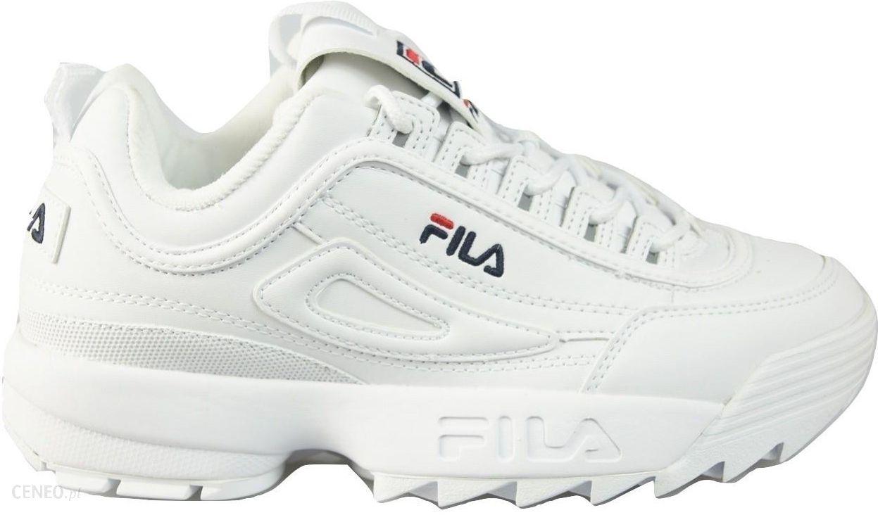 Buty Fila Disruptor II 2 Premium Białe r.44 Ceny i opinie Ceneo.pl