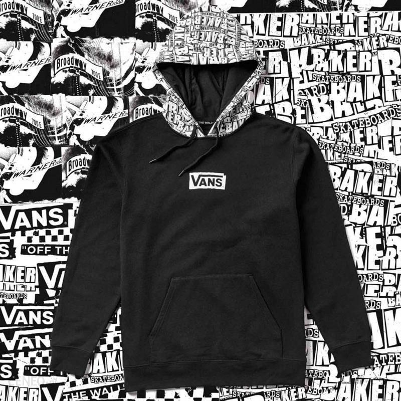 Bluza VANS Vans X Baker Po Black (BLK) Ceny i opinie Ceneo.pl
