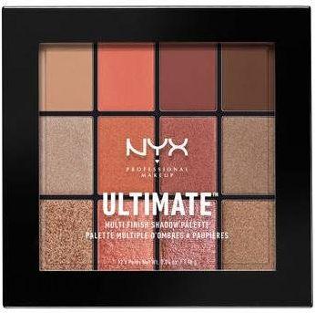 NYX Professional Makeup Ultimate Shadow Paleta Cieni do Powiek Warm Rust