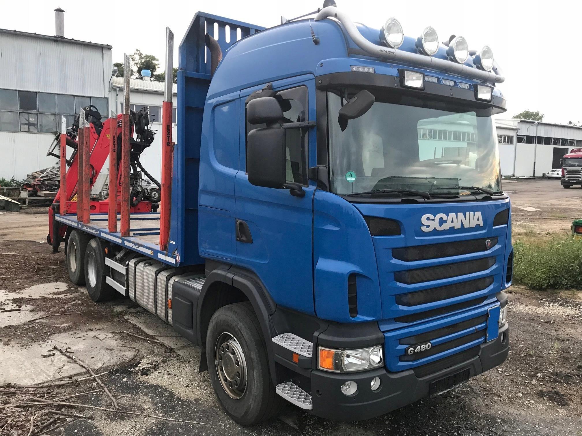 Scania Do Przewozu Drewna G480 Opinie I Ceny Na Ceneo Pl