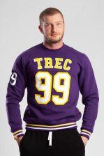 Trec Nutrition Nutrition Bluza Men'S Wear Trec Team Athletes Cytrynowy Hoodie 020 Żółty (5902114000424)