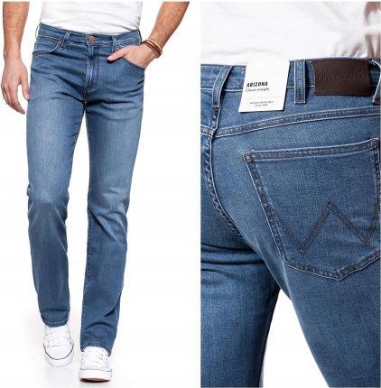 Wrangler Bryson Spodnie Męskie Jeans Rurki W33 L32 Ceny i