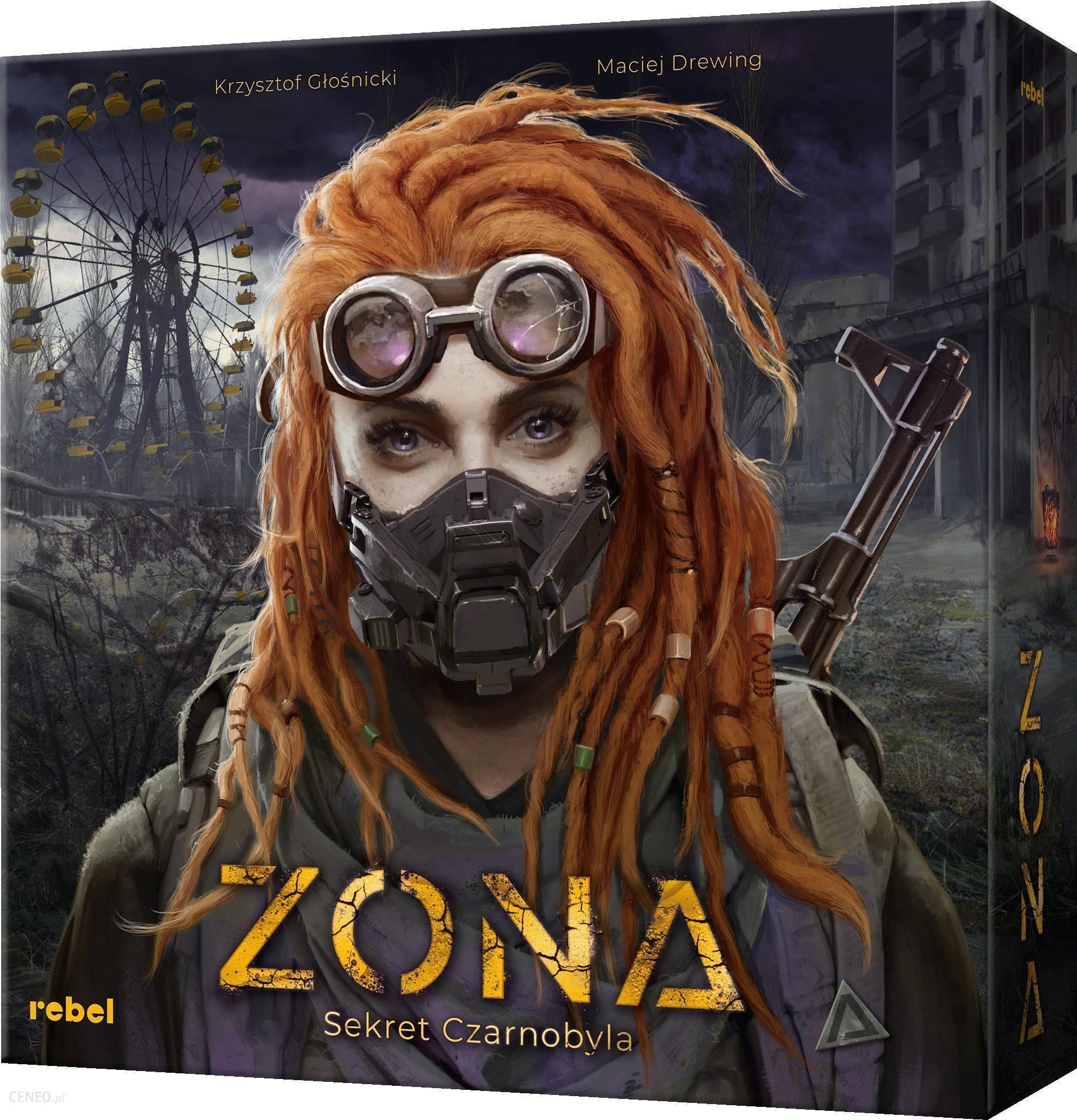 """Stalo žaidimas """"Rebel Zona: Černobylio paslaptis"""""""