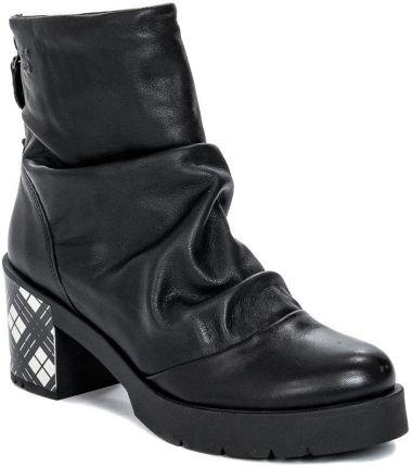 Czarne Zamszowe Buty Botki McArthur r.36