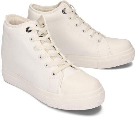 BIG STAR EE274128 biały, trampki damskie Biały Ceny i