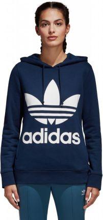 Amazon Adidas Originals trefoil damska bluza z kapturem beżowy 48 Ceneo.pl