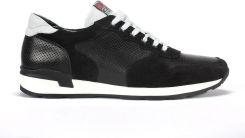 Czarne sneakersy męskie Mati
