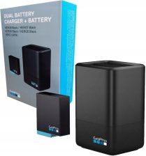 GoPro Dual Battery Charger+ 1 zapasowy akumulator do Hero8 i Hero7 Black i Hero6 (AJDBD001EU)