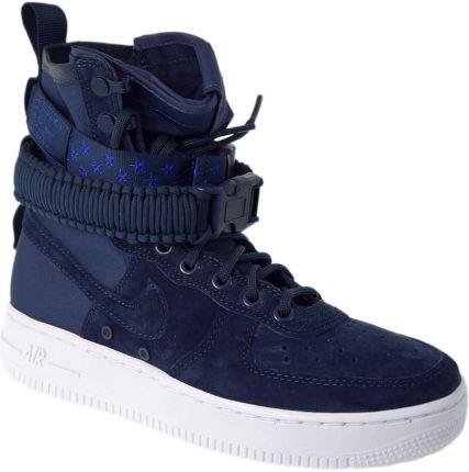 Nike Buty damskie Nike Air Force 1 Low Niebieski Ceny i opinie Ceneo.pl