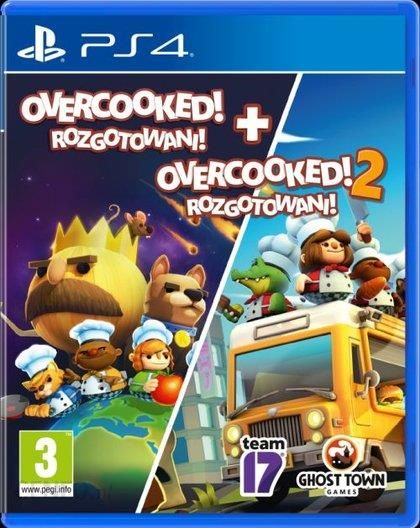 Overcooked Overcooked 2 Gra Ps4 Ceny I Opinie Ceneo Pl