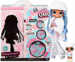 LOL Surprise OMG lalka Winter Disco Snowlicious Fashion Snow Angel Doll 561828
