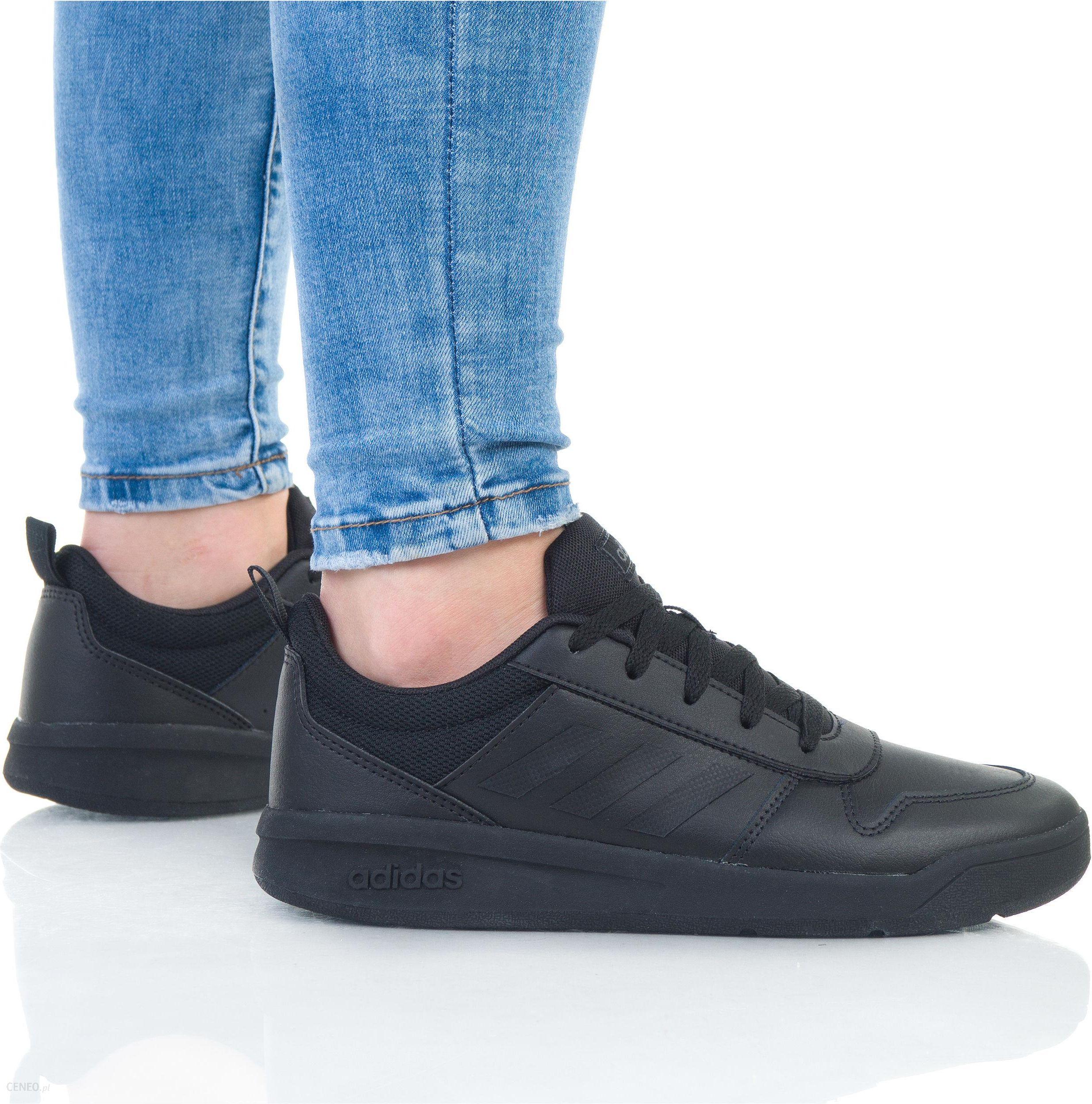 Buty dla dzieci adidas Tensaur K czarne EF1086 Rozmiar 35