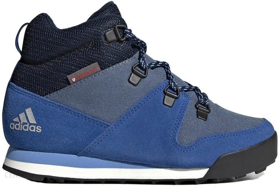 Adidas Buty Cw Snowpitch K Climawarm Primaloft (G26575) Niebieski
