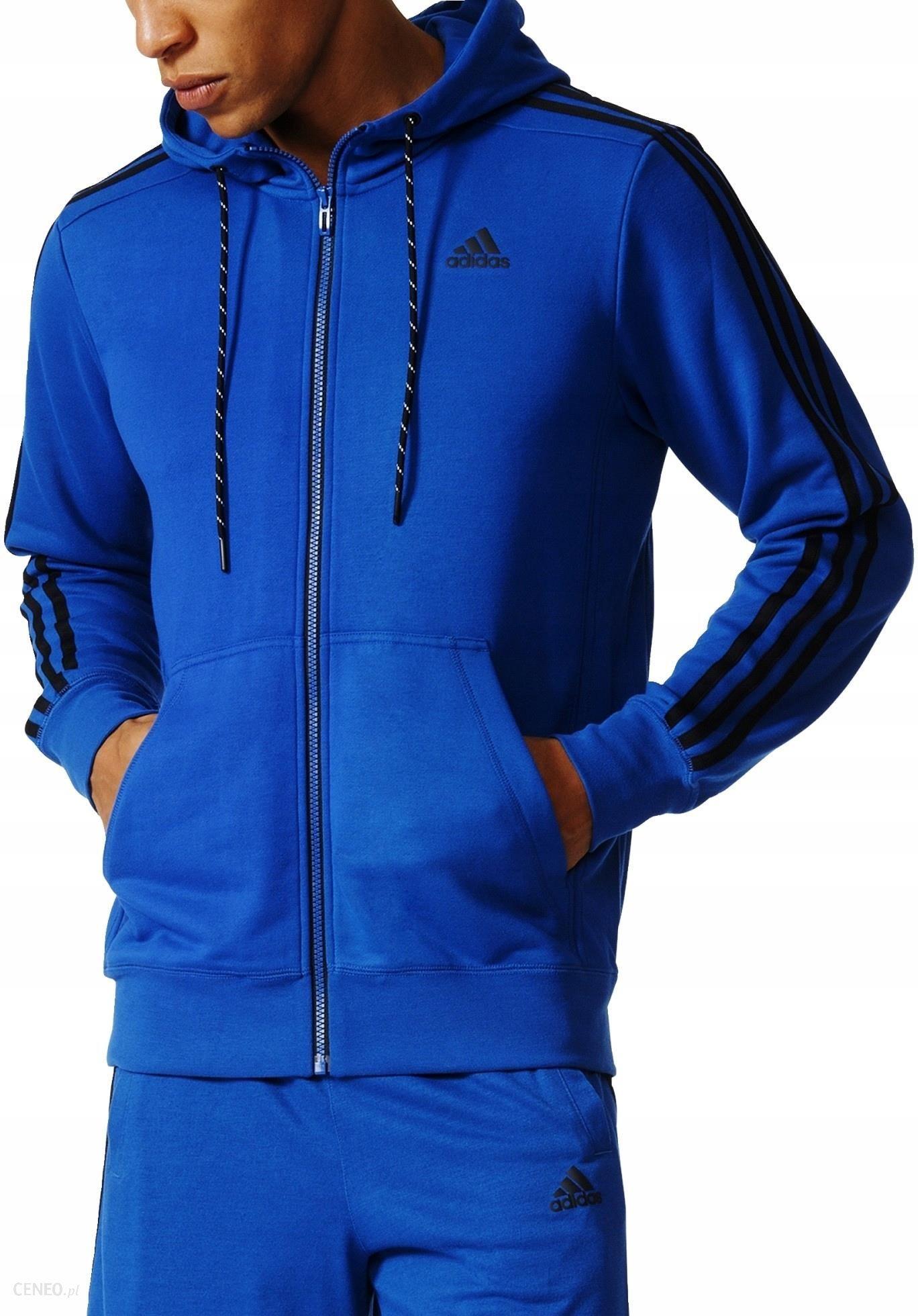 Adidas Bluza Męska Niebieska Climalite AK1744 S Ceny i opinie Ceneo.pl