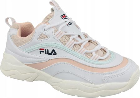 Sneakersy FILA Ray Cb Low Wmn 1010764.91H WhitePink