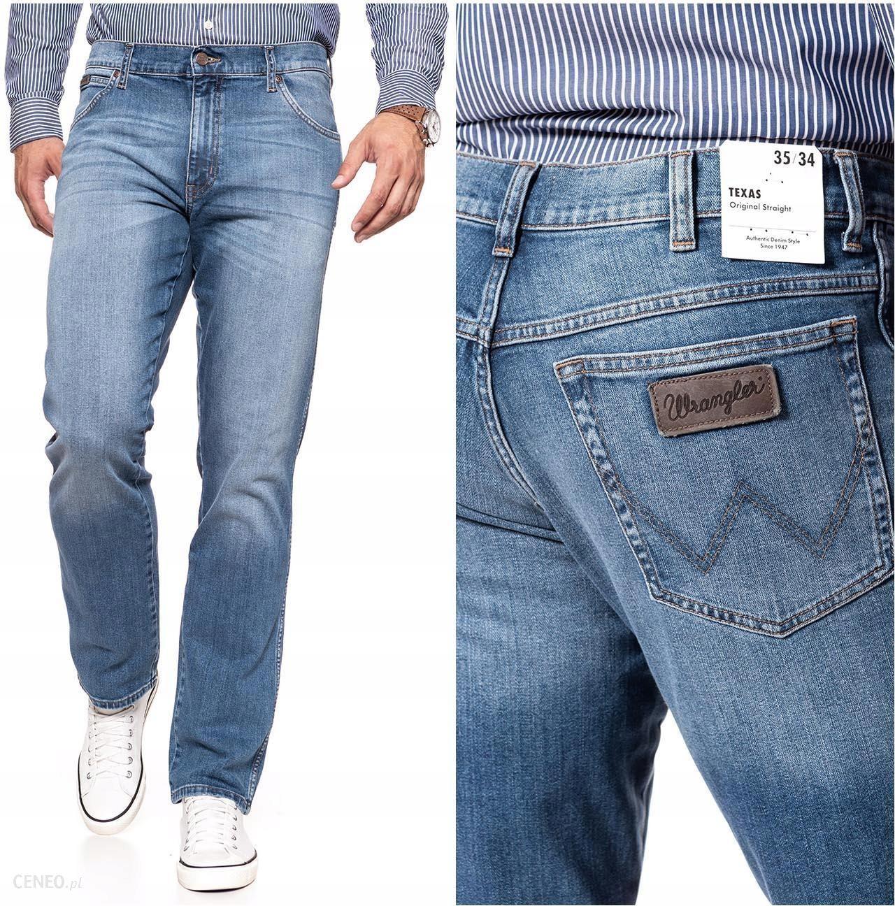 Wrangler Texas Męskie Spodnie Jeansowe W32 L32 Ceny i opinie Ceneo.pl