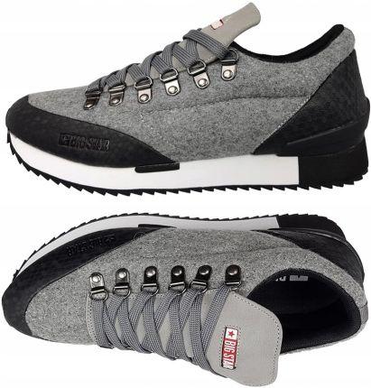 big star aa174109 buty męskie szare sneakersy
