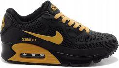 Buty Nike MęskieDamskie Nike Air Max 90 Kpu Czarny