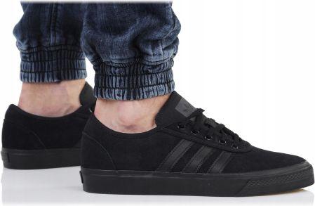Adidas Jeans B42228 Buty Męskie Skórzane Czarne Ceny i