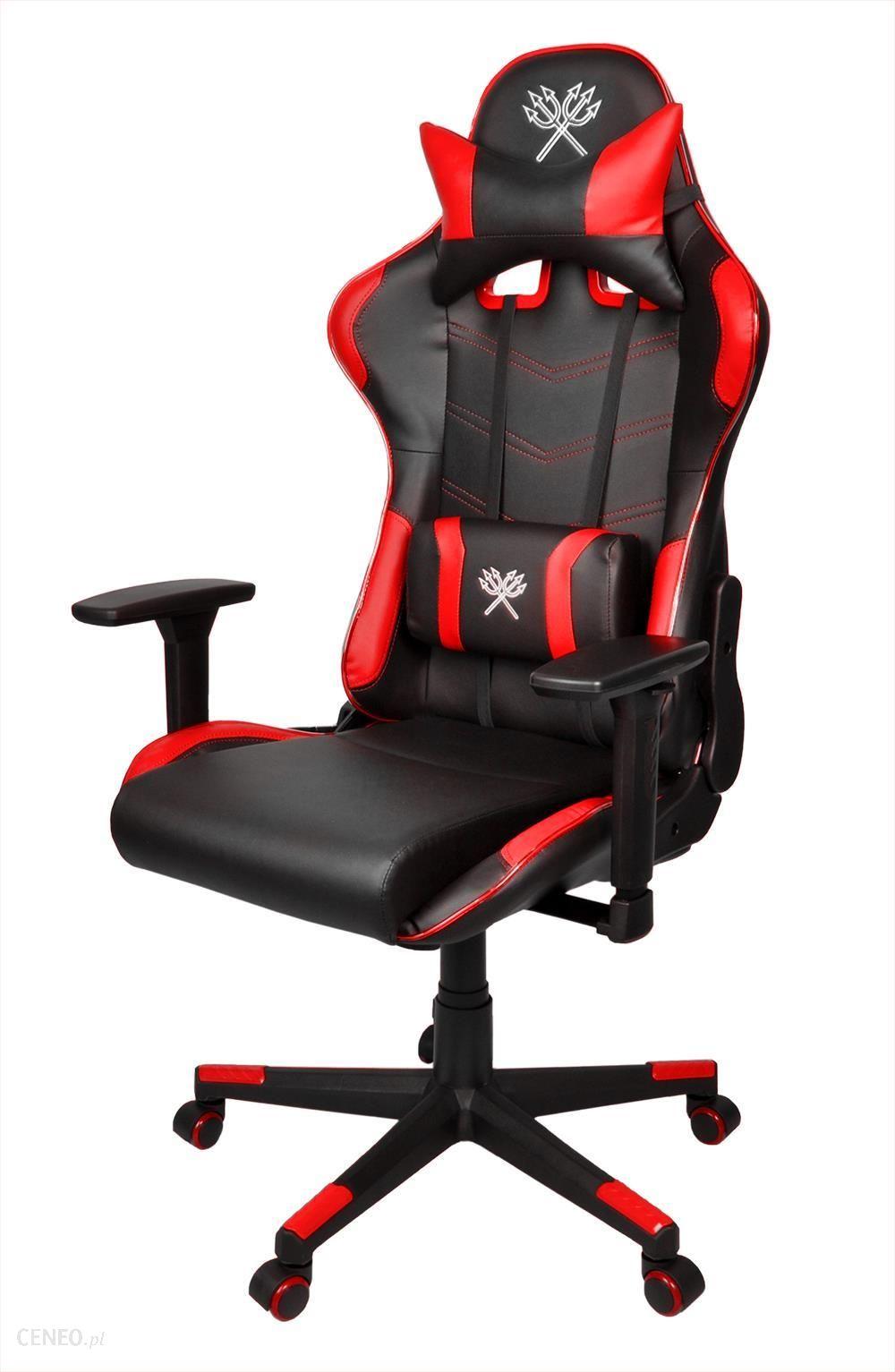 Fotel Dla Gracza Iso Trade Fotel Gamingowy Led Czarno Czerwony Malatec Ceny I Opinie Ceneo Pl