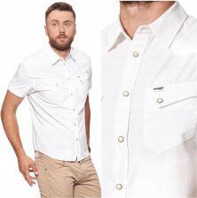 Wrangler Western Męska Koszula Krótki Rękaw XL Ceny i  Vjytk