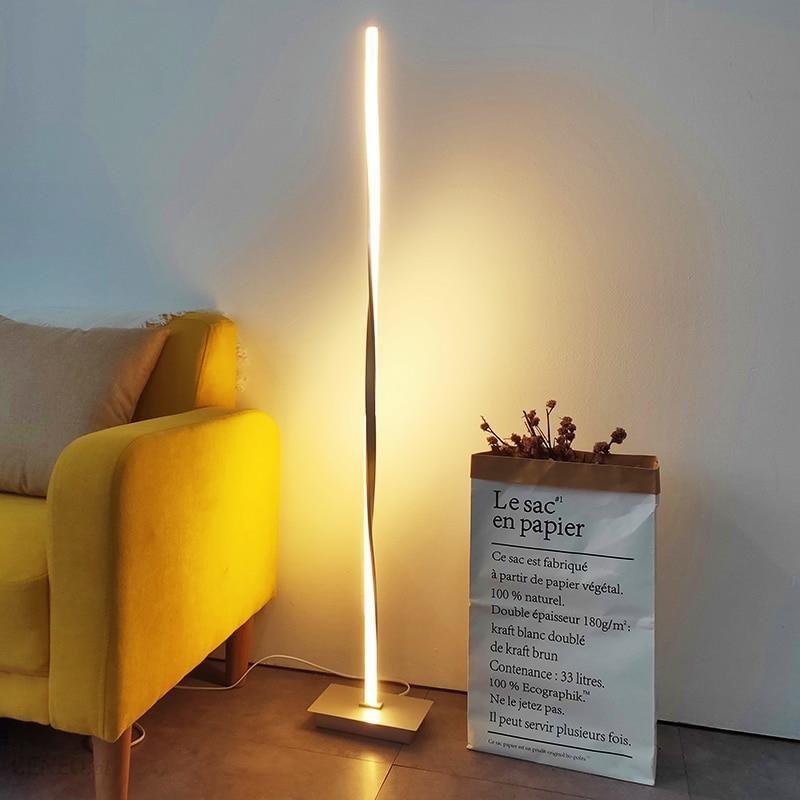 lampy stojące ledowe do salonu
