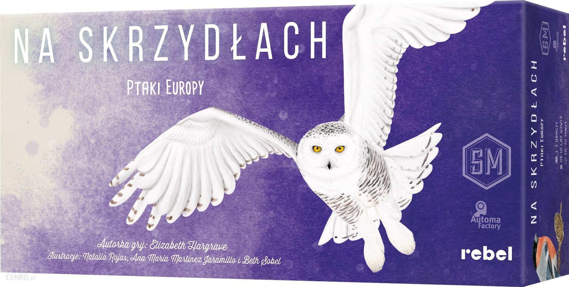 """Stalo žaidimas """"Rebel On Wings: Birds of Europe"""""""